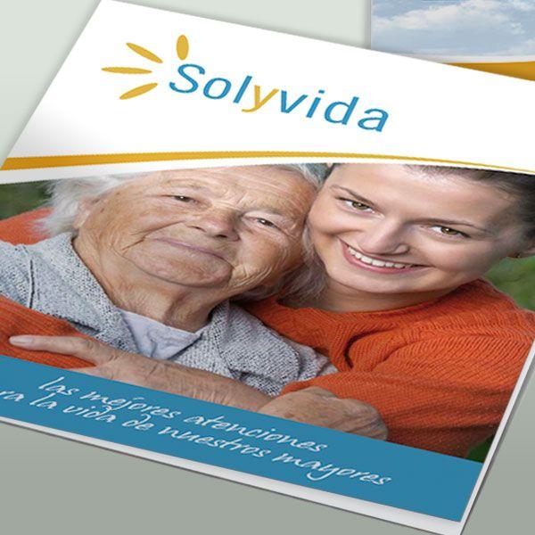 Catálogo para Residencias Sol y Vida en Madrid