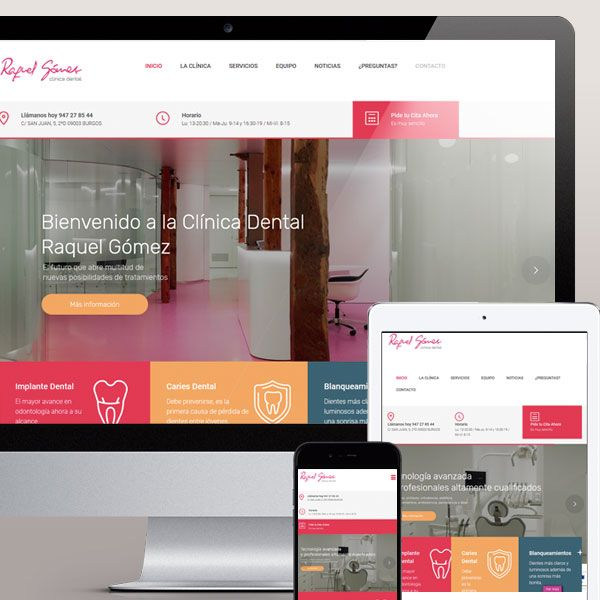 Diseño web Torrelodones Madrid Clinica Dental