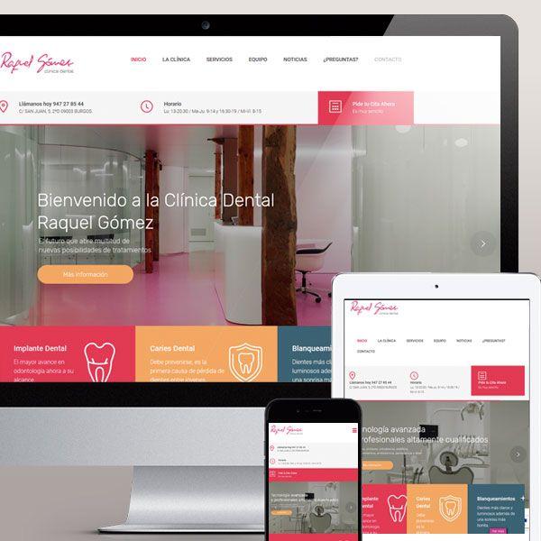 Diseño web Torrelodones Madrid Clinica Dental