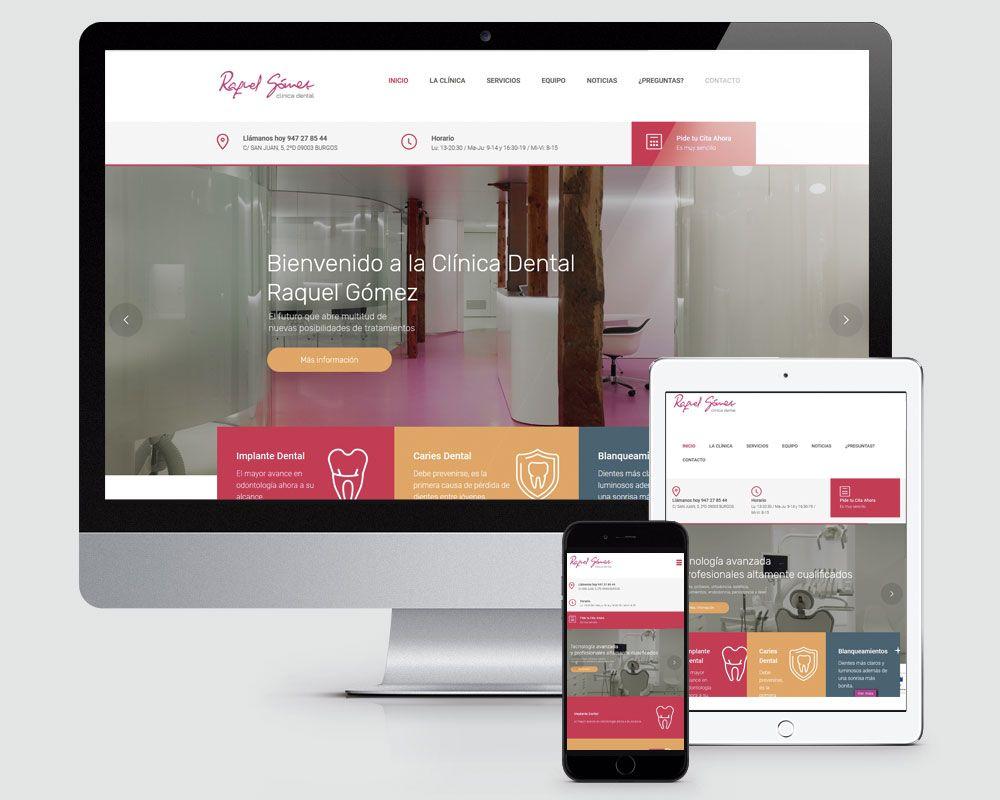 Diseño en Torrelodones y Madrid de Pagina Web Clinica Dental