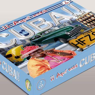 Diseño grafico de CD Música Cuba