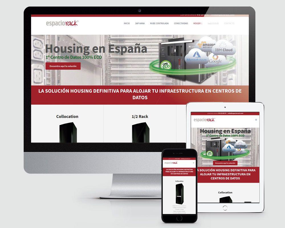 Diseño página web Espacio