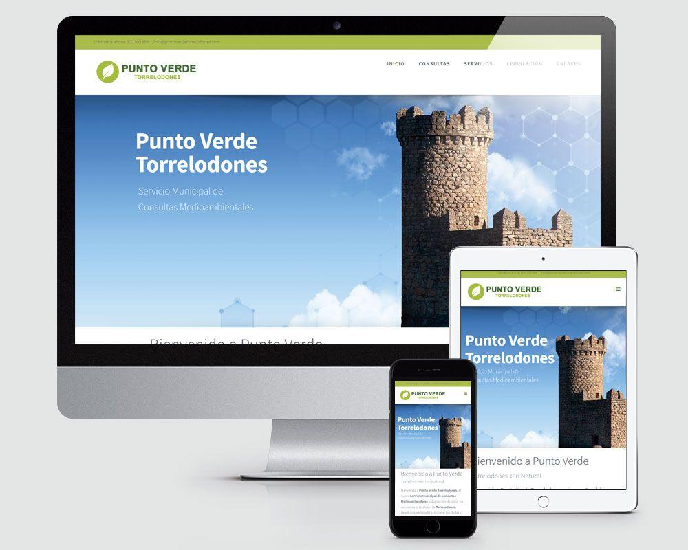 Diseño Web del Punto Verde de Torrelodones